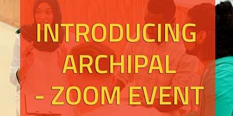 Introducing ArchiPal - Zoom Event tickets