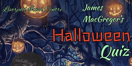 James MacGregor's Halloween Quiz tickets