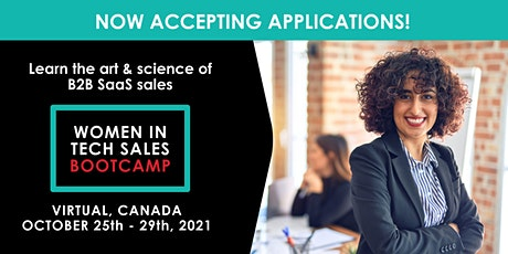 Women in Tech Sales Bootcamp (Virtual) - October  2021 tickets