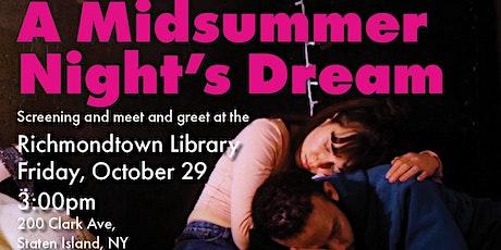 A Midsummer Night's Dream @ Richmondtown Library tickets