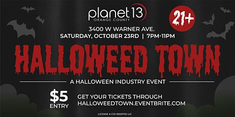 Halloweed Town tickets