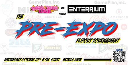 Pinball Super League: Pre Expo Warmup Matchplay at Enterrium tickets