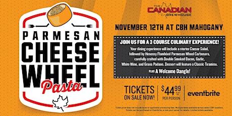 Cheese Wheel Pasta Night (Calgary - Mahogany) tickets