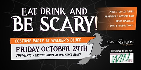 Eat, Drink and Be Scary! - Costume Party at Walker's Bluff tickets