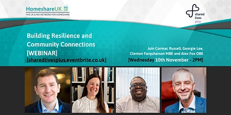 Building resilience and inclusive communities post-Covid 19 tickets
