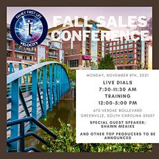Greenville, SC Fall Sales Conference tickets