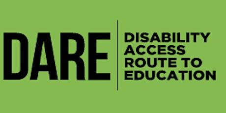 UCC  Online DARE Clinics tickets