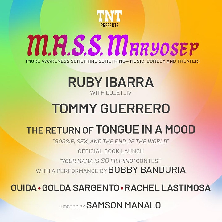 TNT M.A.S.S. Maryosep - Music, Comedy & Theater Festival image