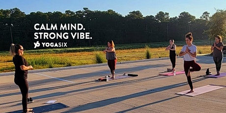 Join us for a free yoga class with YogaSix Saturdays at our Studio Lot tickets