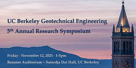 2021 UC Berkeley Geotechnical Engineering Research Symposium tickets