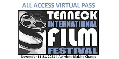 2021 Teaneck Film Festival All Access  Virtual Pass tickets