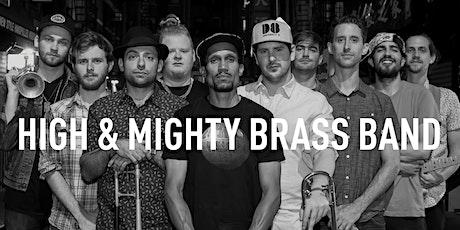 High & Mighty Brass Band at Waterhole Music Lounge, Saranac Lake, NY tickets