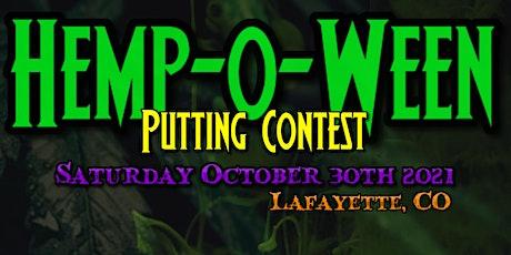 Hemp-O-Ween Putting Contest tickets