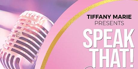 SPEAK THAT: Pink Table Talk tickets