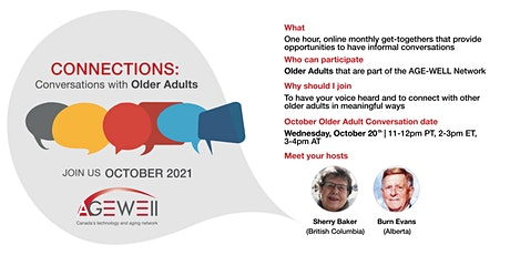 Connections: Conversations with Older Adults tickets