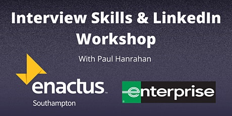 Interview Skills & LinkedIn workshop with Paul Hanrahan tickets
