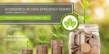Economics of High Efficiency Homes tickets