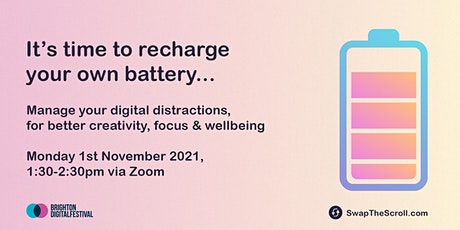 Managing Digital Distractions: For Creativity, Focus & Wellbeing tickets