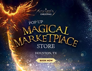 HOUSTON, TX: A Wizard's Magical Marketplace Experience THURSDAY tickets