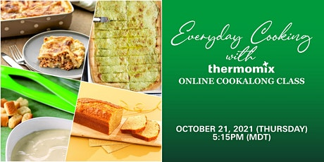 Thermomix® Virtual Cooking Class: Everyday Cooking with Thermomix tickets