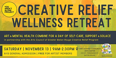 Creative Relief Wellness Retreat tickets