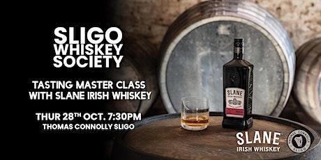 SWS tasting master class with Slane Irish Whiskey tickets