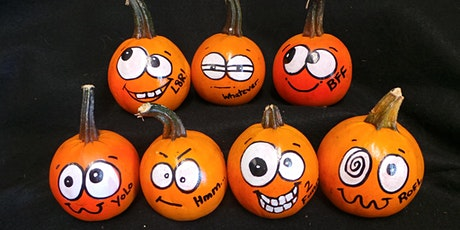 Pumpkin Painting with Silly Faces with Sarah! tickets