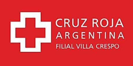 Curso de RCP en Cruz Roja (sábado 27-11-21) 9 a 13 hs - Duración 4 hs. entradas