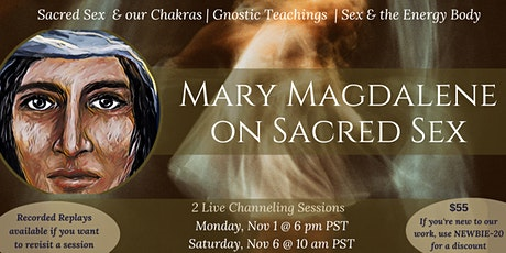 Mary Magdalene on Sacred Relationship tickets