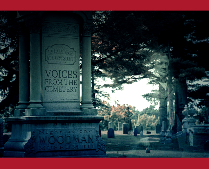 Voices from the Cemetery 2021  (Saturday October 23 & Sunday  October 24) image