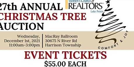 2021 Christmas Luncheon and Auction tickets