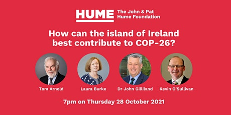 How can the island of Ireland best contribute to COP-26? tickets