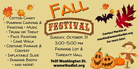 Washington Street UMC Fall Festival tickets