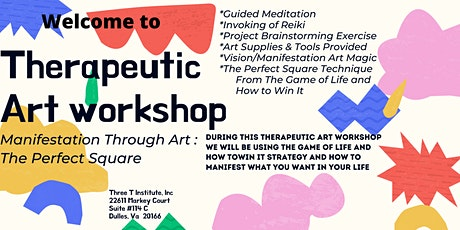 Thereapeutic Art Workshop - The Perfect Square tickets