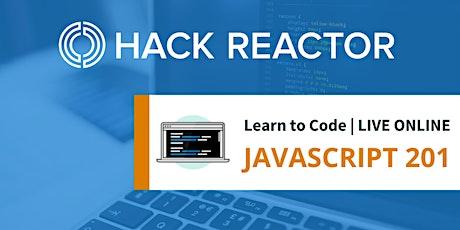 JavaScript 201 [Live-Online] tickets