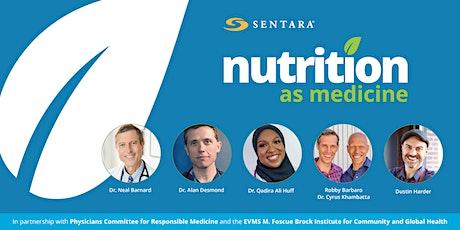 Nutrition As Medicine bilhetes
