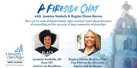 A Fireside Chat with jasmine Sankofa and Regina Dixon-Reeves tickets