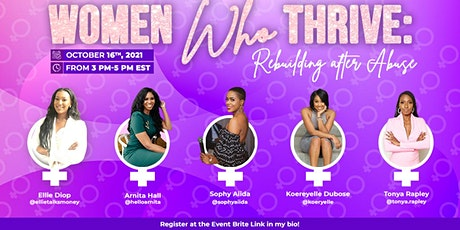 Women Who Thrive: Rebuilding After Abuse tickets