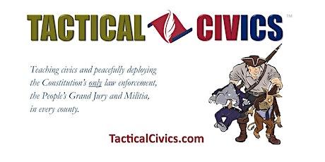 Tactical Civics - Virtual Presentation w/ Eric Wehmeyer tickets
