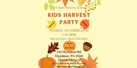 Kids Harvest Party tickets