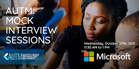 AUTM: Mock Interview Session with Microsoft tickets