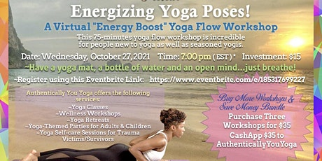 Energizing Yoga Poses! entradas