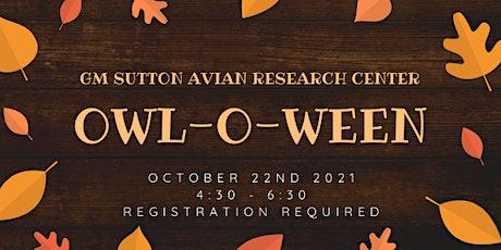 Owl-o-ween biglietti