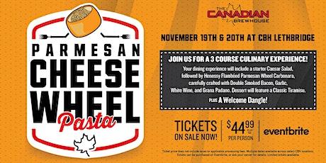 Cheese Wheel Pasta Night (Lethbridge) - Saturday tickets