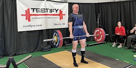 2022 Testify Strengthlifting Challenge tickets