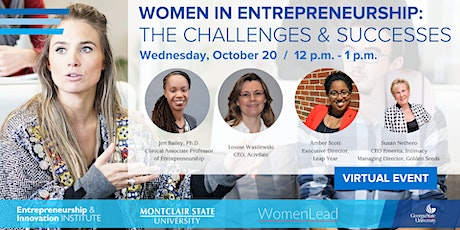 Women in Entrepreneurship: The Challenges & Successes tickets