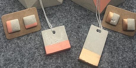 Concrete Jewellery Workshop tickets