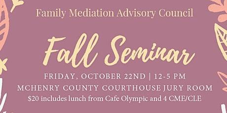 Annual Mediation Seminar tickets