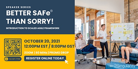 Scaled Agile Framework: Better SAFe than Sorry! tickets
