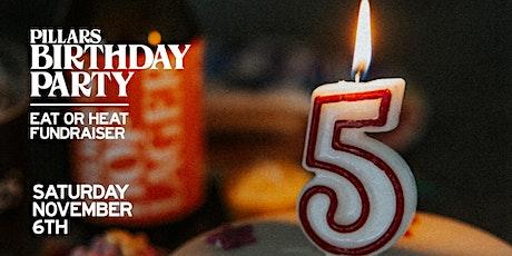 Pillars 5th Birthday Party tickets